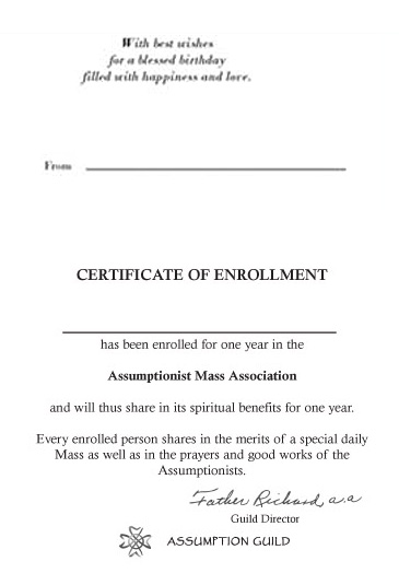 Birthday; Flowers - One Year Enrollment