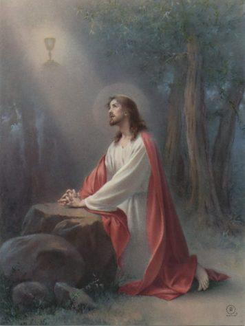 Sympathy; Christ in the Garden - Perpetual Enrollment