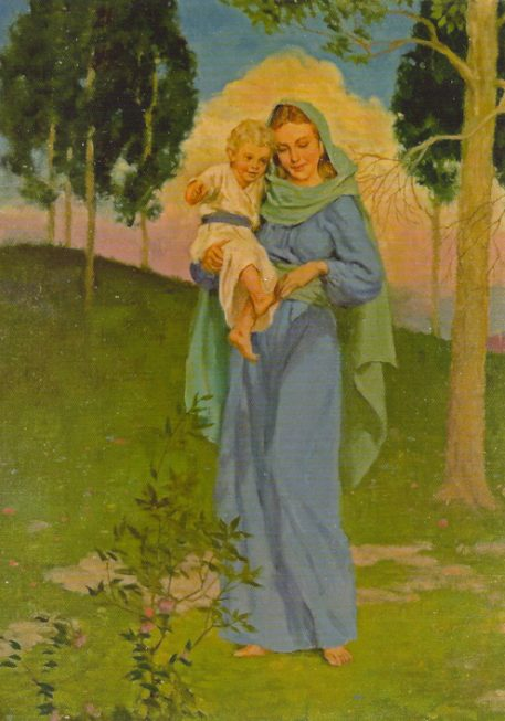 Get Well; Blessed Mother - One Year Enrollment